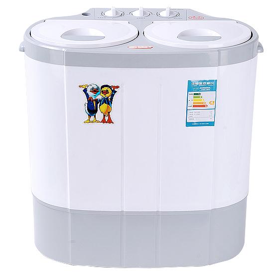 小鸭双桶迷你便捷洗衣机