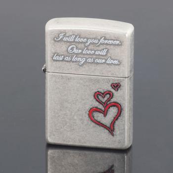 情侣 金银/zippo 永恒的爱礼盒