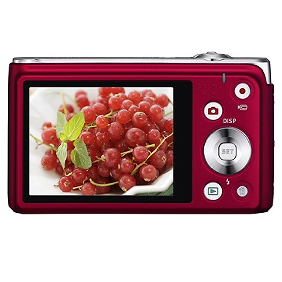 卡西欧(casio) ex-h5 数码相机(红色)高清图片-优品惠