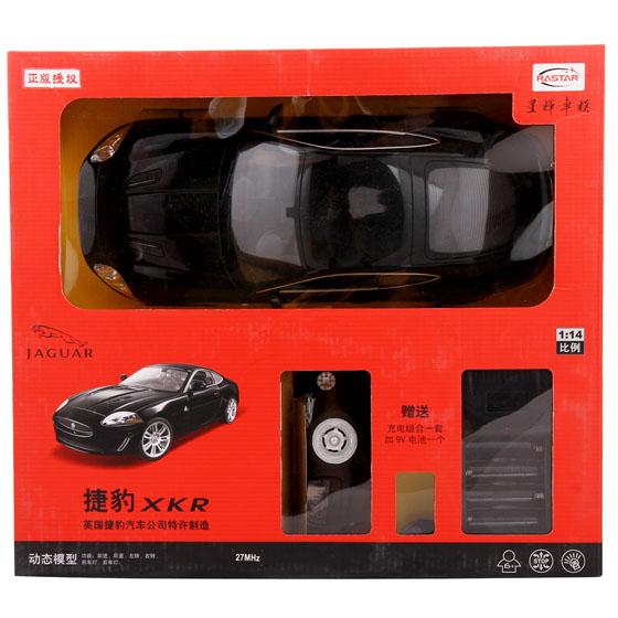 【星辉车模1:14捷豹充电遥控车(黑色)】报价