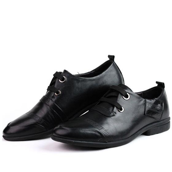秋款时尚商务休闲皮鞋