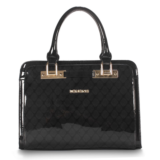 丽佳娜时尚漆皮手提包E30530