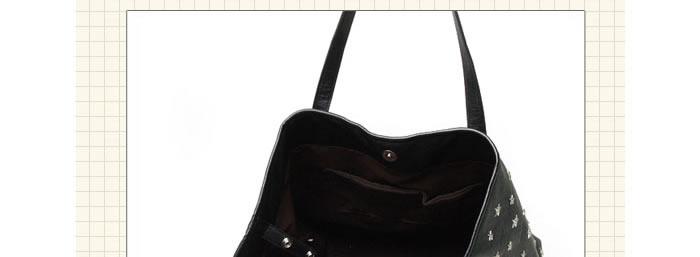 intage ( lv7 ) 材质: 优质pu 颜色: 天蓝色 黑色 背包方式: 单肩图片